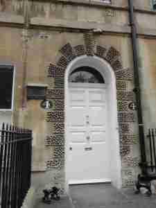 Essa é a casa da Jane em Sidney Place n° 4.
